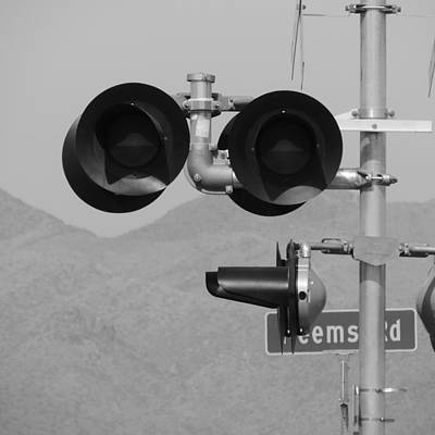 Photograph - Railroad Crossing by Bill Tomsa