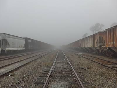 Photograph - Railroad Fog by James Calemine