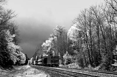 Railroad Landscape Art Print