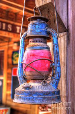 Photograph - Railroad Lantern by Jim And Emily Bush