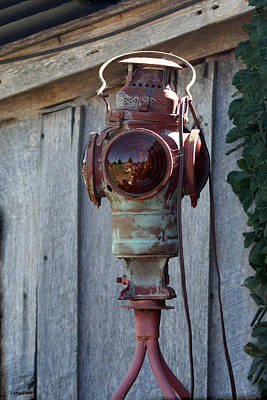 Photograph - Railroad Light  by Lesa Fine