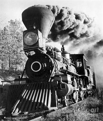 Photograph - Railroad: Locomotive by Granger