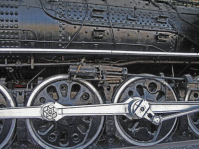 Railroad Museum 2 Print by Steve Ohlsen