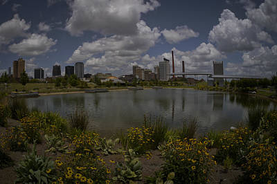 Photograph - Railroad Park Skyline by Just Birmingham