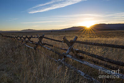 Photograph - Railroad Ranch by Idaho Scenic Images Linda Lantzy