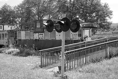 Photograph - Railroad Restaurant.  by Richard J Cassato