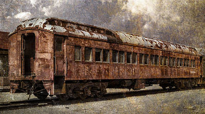 Photograph - Railroad Rust Revealed by John Brink