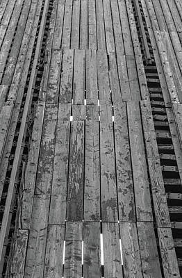 Transportation Photograph - Railroad by Med Studio