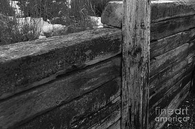 Photograph - Railroad Ties by Robert WK Clark