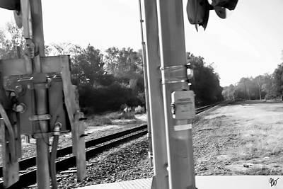 Photograph - Railroad Tracks by Gina O'Brien