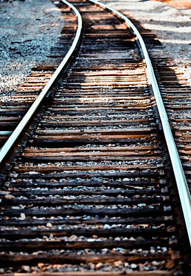 Photograph - Railroad Tracks II by Athena Mckinzie