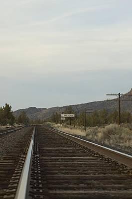 Photograph - Railroad Tracks by Sara Stevenson