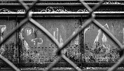 Photograph - Railroad Trestle Rust And Graffiti #2 by Stuart Litoff