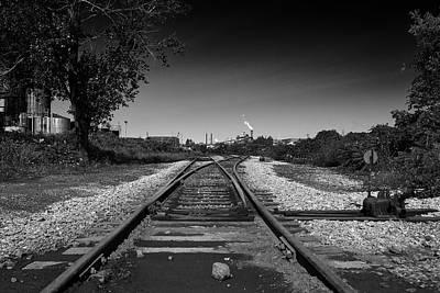 Photograph - Rails-1 by Joseph Amaral