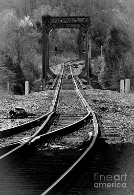 Art Print featuring the photograph Rails by Douglas Stucky