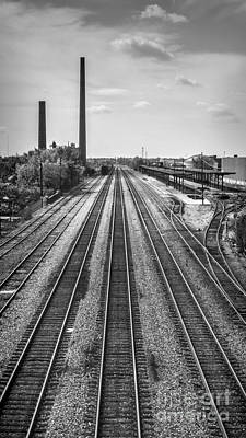 Photograph - Rails Through Birmingham by Ken Johnson