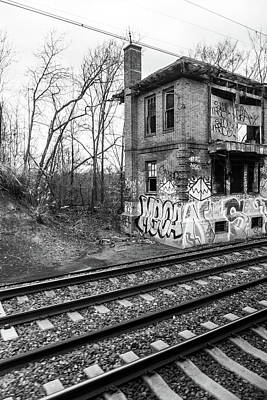 Photograph - Railside Station Graffiti by SR Green