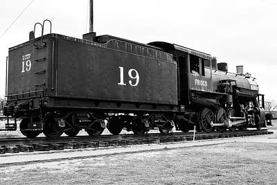 Photograph - Railway Engine In Frisco by Nicole Lloyd