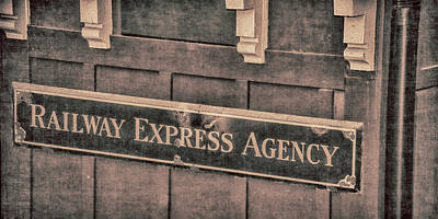 Photograph - Railway Express Agency by Pamela Williams