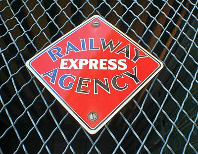 Photograph - Railway Express by Douglas Miller