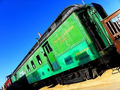Photograph - Railway Express by Elizabeth Hoskinson