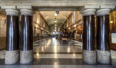 Photograph - Railway Hall by Wayne Sherriff