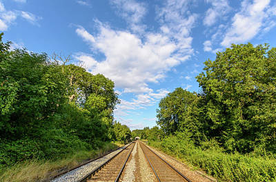 Photograph - Railway In Wiltshire B by Jacek Wojnarowski