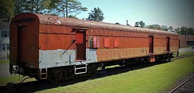 Ic Art Photograph - Railway Mail Car by Cynthia Guinn