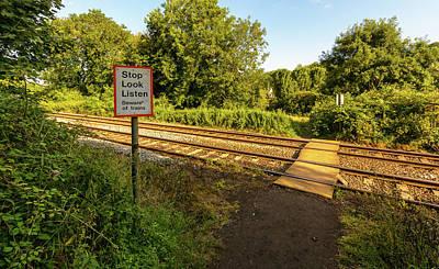Photograph - Railway Pedestrian Crossing by Jacek Wojnarowski