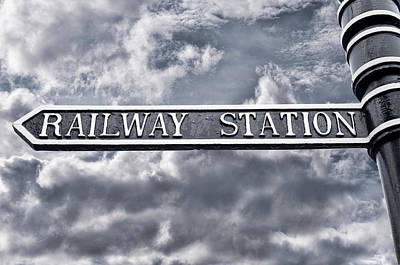 Photograph - Railway Station by Sharon Popek