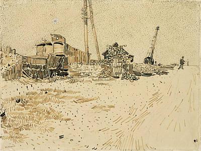 Railway Storage Yard, 1888 Art Print by Vincent Van Gogh