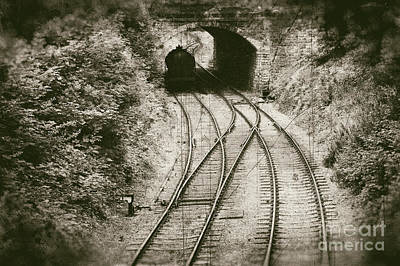 Railway - Vintage Style Art Print