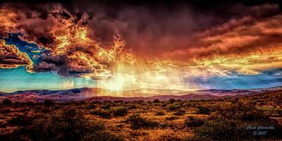 Photograph - Rain ... by Chuck Caramella