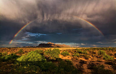 Photograph - Rain And Rainbows  by Saija Lehtonen