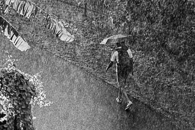 Rainy Day Photograph - Rain And Sun- St Lucia by Chester Williams