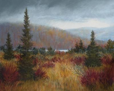 Rain Before The Snow Art Print by Paula Ann Ford