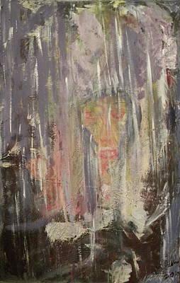 Loneliness Mixed Media - Rain by Carmen Kolcsar