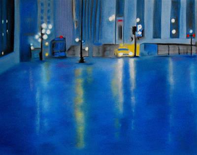 Pastel - Rain by Carrie Diaz