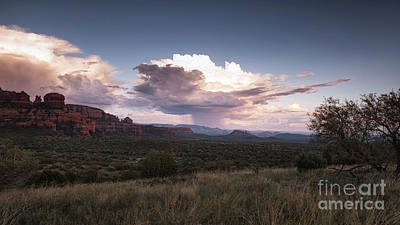 Photograph - Rain Cloud Off Of Schnebly Hill Sedona by Alissa Beth Photography
