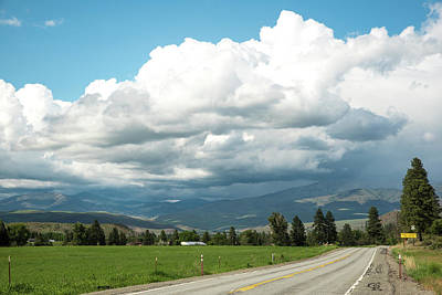 Photograph - Rain Clouds Over Methow Valley by Tom Cochran
