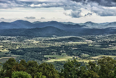 Photograph - Rain Clouds Over Rockfish Valley by Mike Martin