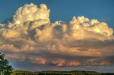Photograph - Rain Clouds Over The Prairie by Shelly Gunderson