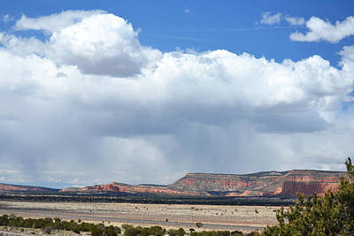 Photograph - Rain Comes To The Mesa by rd Erickson