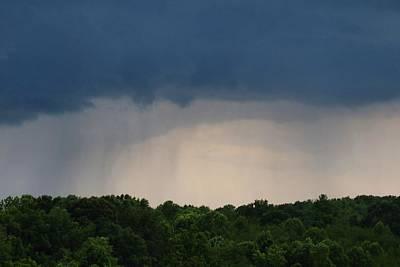 Photograph - Rain Curtains 2 by Kathryn Meyer