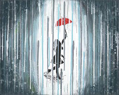 Rain Dance Print by Melissa Smith
