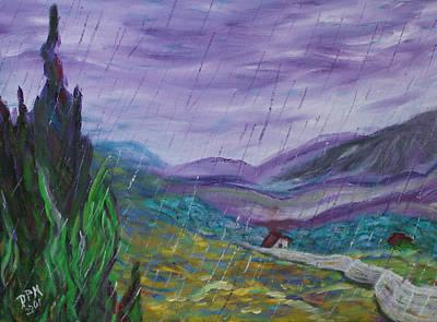Painting - Rain by David McGhee