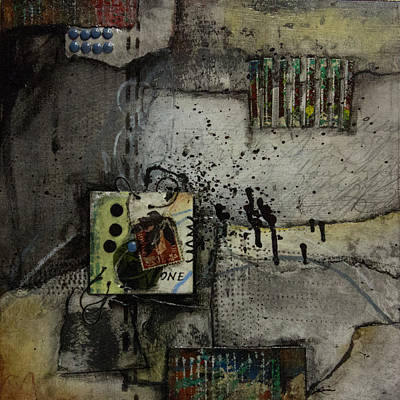 Assemblage Mixed Media - Rain Delay by Laura  Lein-Svencner