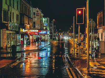 Photograph - Rain Dogs by Nick Barkworth