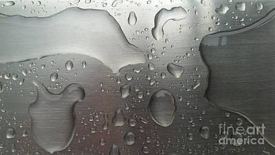 Photograph - Rain Drops by Jimmy Clark