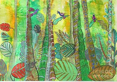 Painting - Rain Forest by Gita Vasa